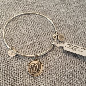 Alex & Ani New MLB Washington Nationals Bracelet